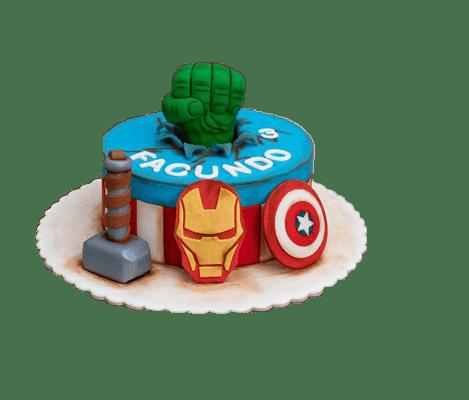 tortas de avengers