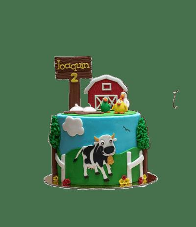 tortas tematicas de la granja de zenon